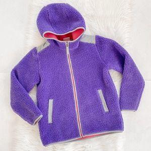 Hanna Andersson Fleece Jacket Size 160 US Girls 14
